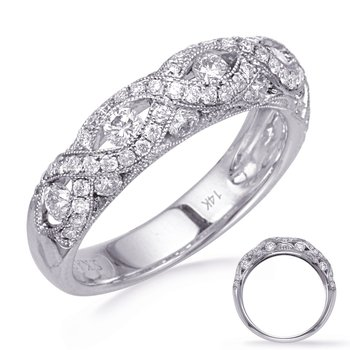 White Gold Diamond Fashion Band