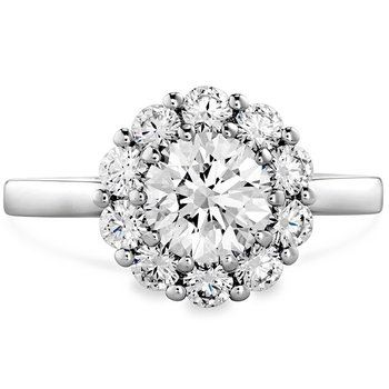 0.6 ctw. Beloved Open Gallery Engagement Ring