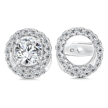 Diamond Earing Jacket ( .41 tw )
