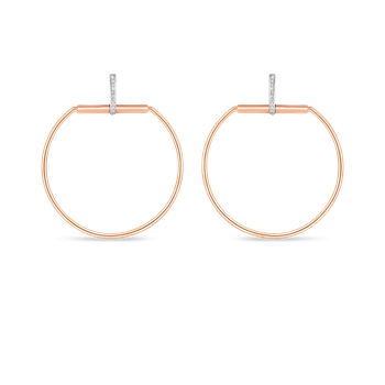 #19704 Of Earrings With Diamonds