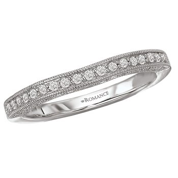 Curved Wedding Band