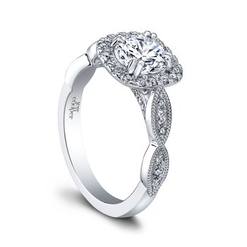 Livia Halo Engagement Ring