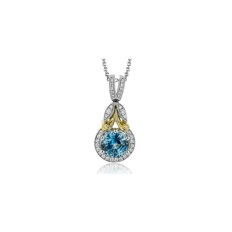 Simon G LP4545 COLOR PENDANT