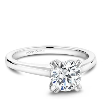 Noam Carver Modern Engagement Ring B002-02A