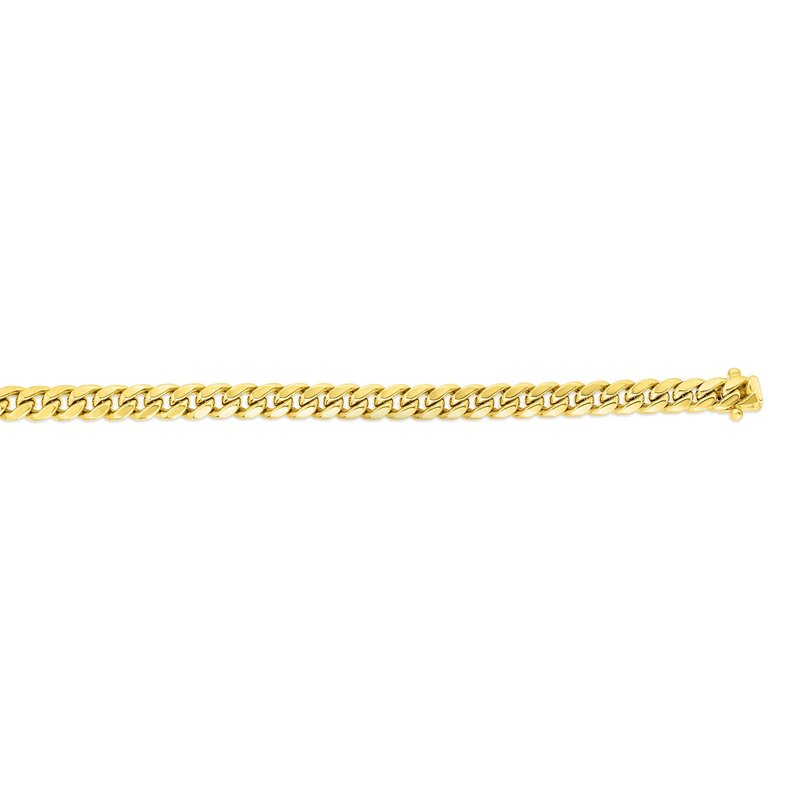 Royal Chain 14K Gold 6.1mm Semi-Solid Classic Miami Cuban