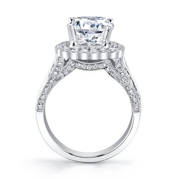 MARS 27119 Engagement Ring, 0.88 Ct Rd.