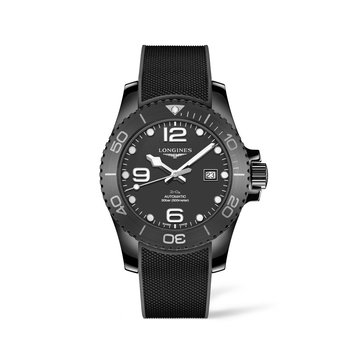 Longines Hydro Conquest 43mm Automatic - Black