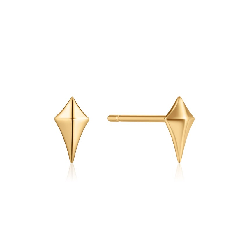 Ania Haie Diamond Shape Stud Earrings