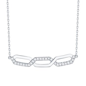 Smiling Rocks 0.17Ct G-H/VS1 Lab Grown Diamond Infinity Necklace