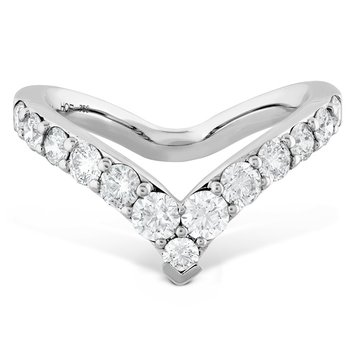 0.78 ctw. Triplicity Single Pointed Ring