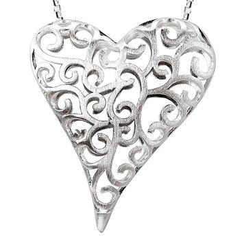 Ladies Heart Pendant