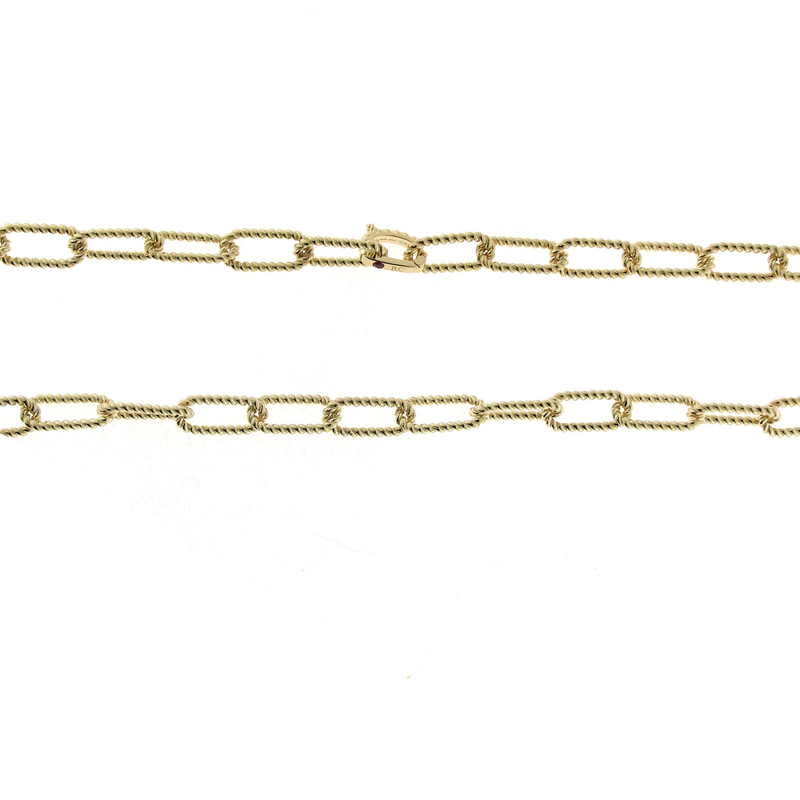 Roberto Coin 18Kt New Barocco Link Chain