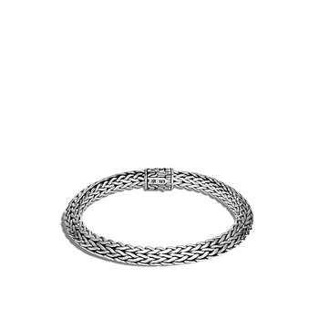 Tiga Classic Chain 8MM Bracelet in Silver