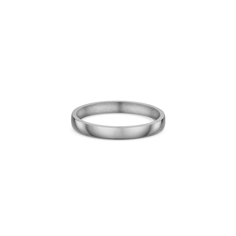 Dora 3mm Slight Dome Wedding Band