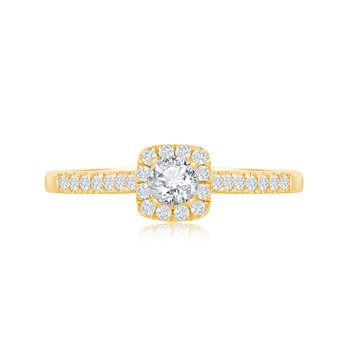 ABIGAIL CLASSIC CUSHION RING