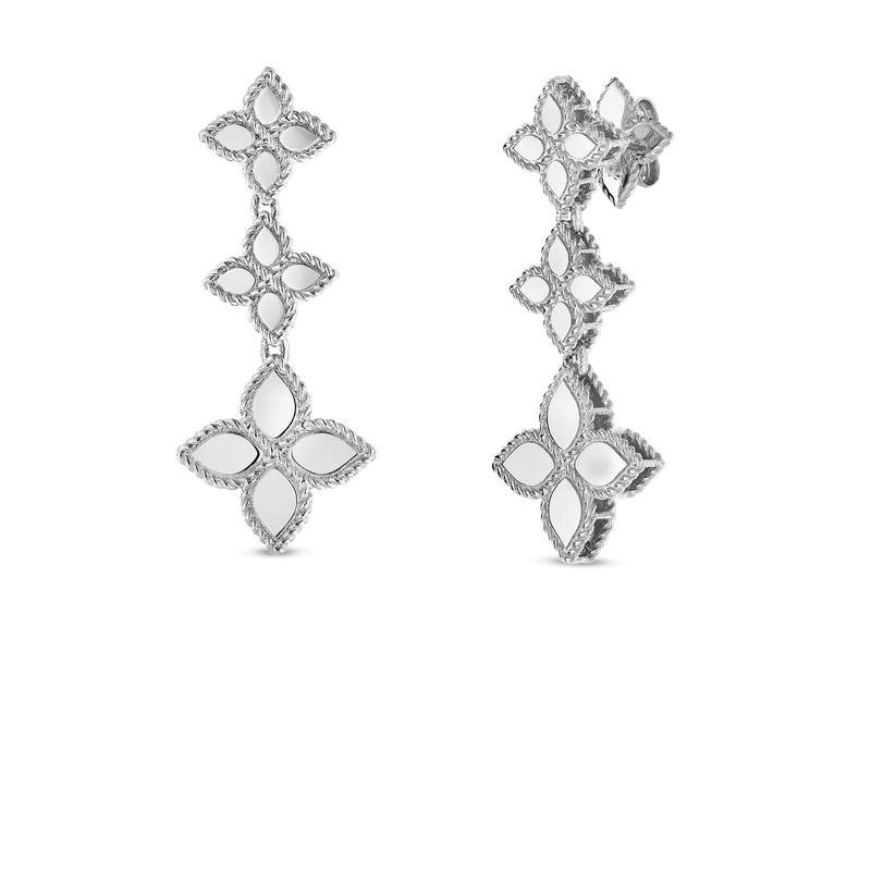Roberto Coin Drop Earrings &Ndash; 18K White Gold
