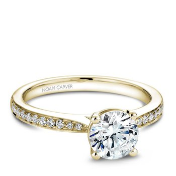 Noam Carver Modern Engagement Ring B018-02YA