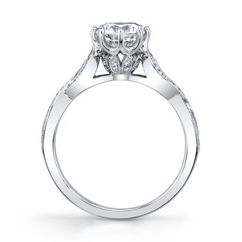 MARS 27185 Diamond Engagement Ring, 0.20 Ctw.