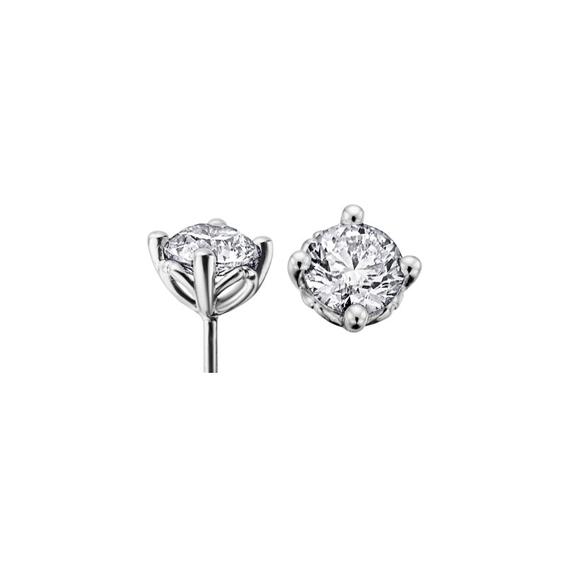 I Am Canadian Diamond Stud Earrings