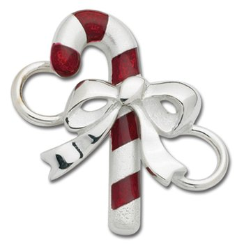 Sterling Silver Candy Cane