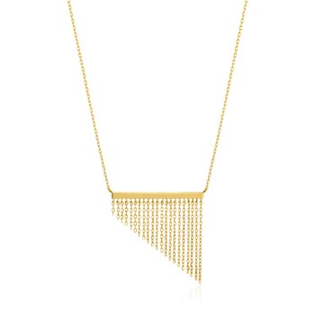 Fringe Fall Necklace