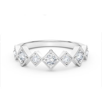 The Forevermark Tribute™ Collection Stackable Diamond Ring