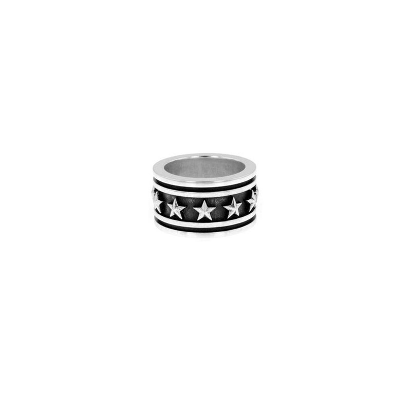 King Baby Stars And Stripes Band Ring