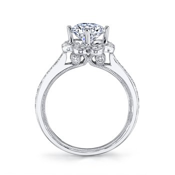 MARS 26549 Diamond Engagement Ring 0.58 ct tw