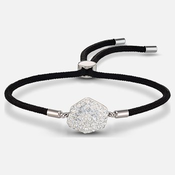 Swarovski Power Collection Air Element Bracelet, Black, Stainless steel
