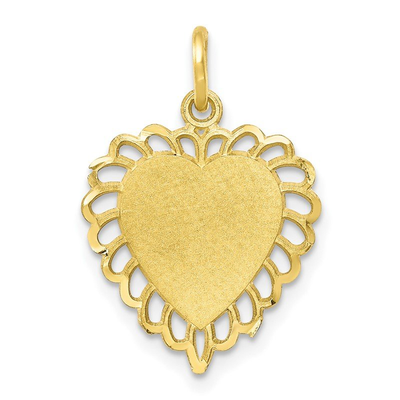 Quality Gold 10k Heart Charm