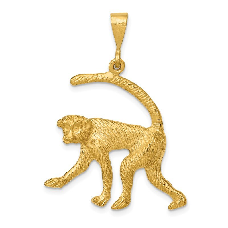 Quality Gold 14k Monkey Charm