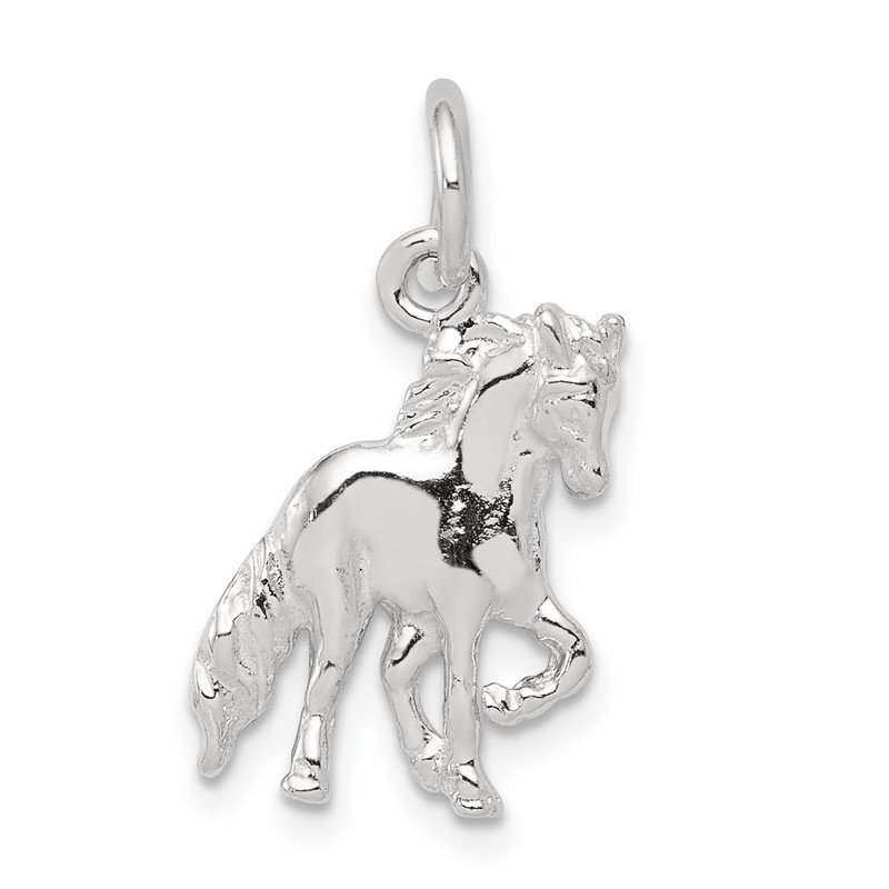 Quality Gold Sterling Silver Horse Charm