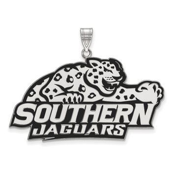 Sterling Silver Southern University NCAA Pendant