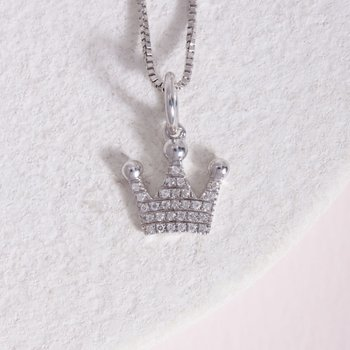 Queen Of All Things Sterling Silver Necklace