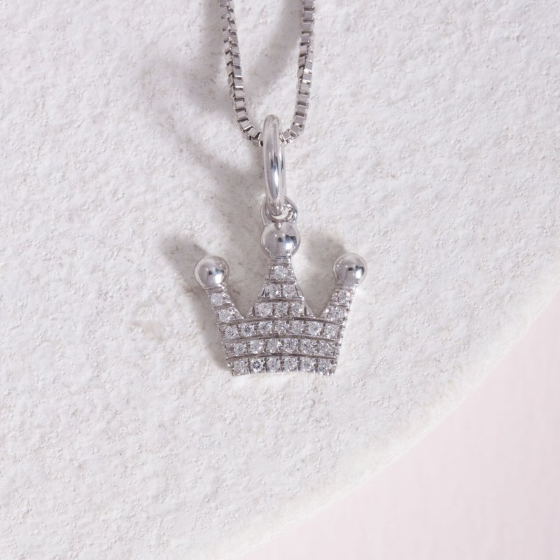Ella Stein Queen Of All Things Sterling Silver Necklace