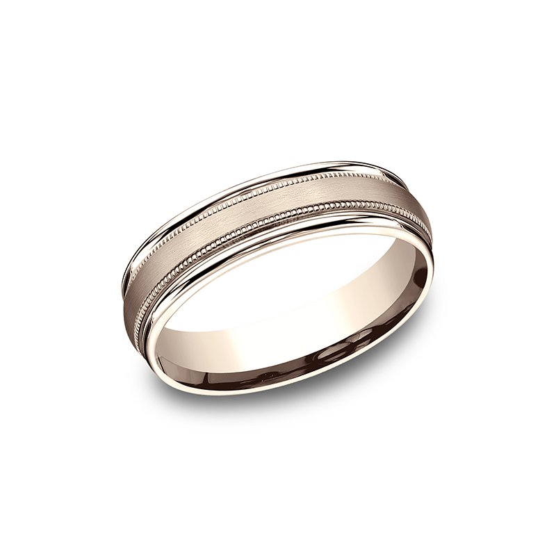 Benchmark Wedding Bands Comfort-Fit Design Wedding Band