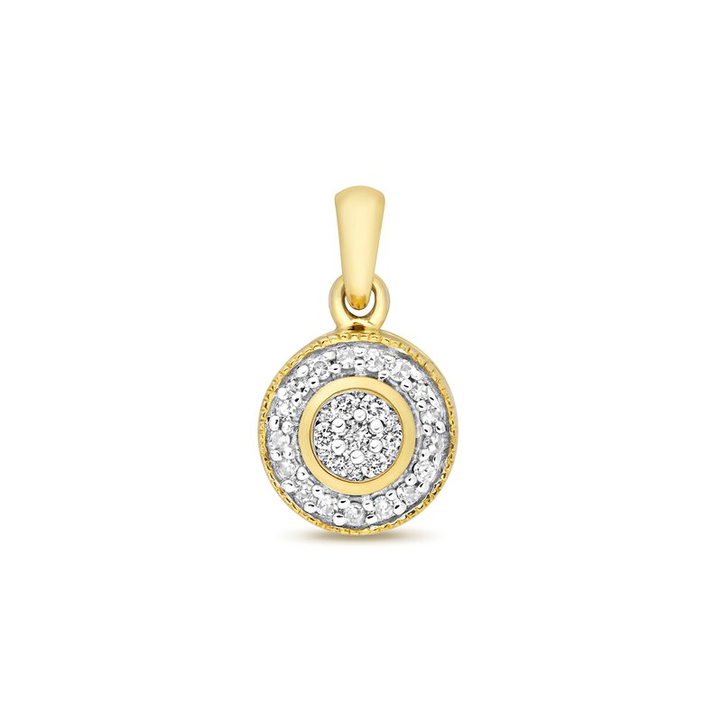 Treasure Diamond Pendant Set Around