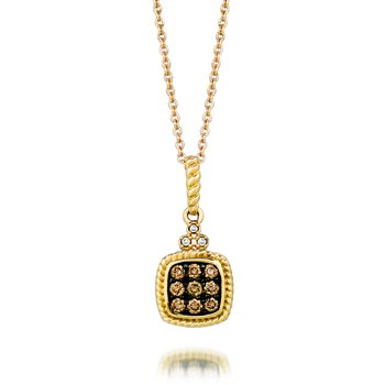 14K Honey Gold™ Pendant
