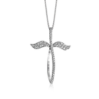 Simon G LP4397 CROSS PENDANT