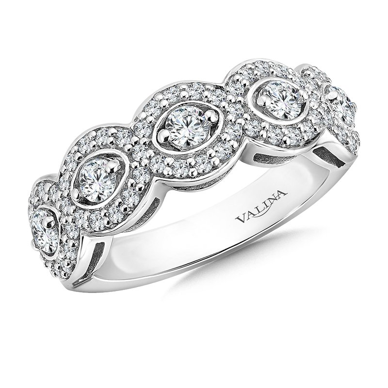 Valina Bridals Diamond Anniversary Band 0.9 ct. tw.