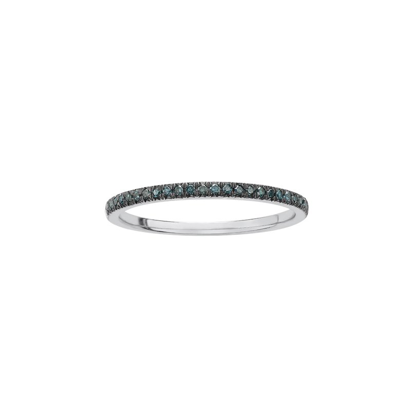 Diamond Days Enhanced Col.blue Diamond Ladies Ring