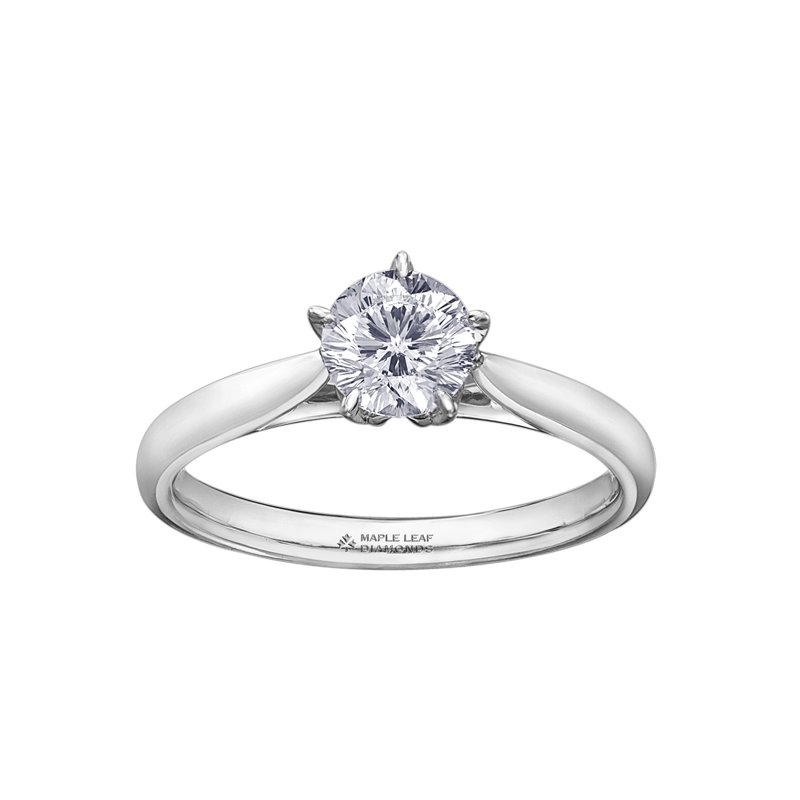Maple Leaf Diamonds Maple Leaf Diamonds™ Ladies Solitaire