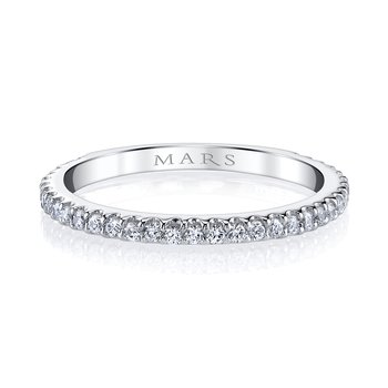 MARS 26268 Stackable Ring, 0.30 Ctw.