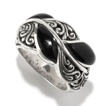 Cascada Leaf Ring