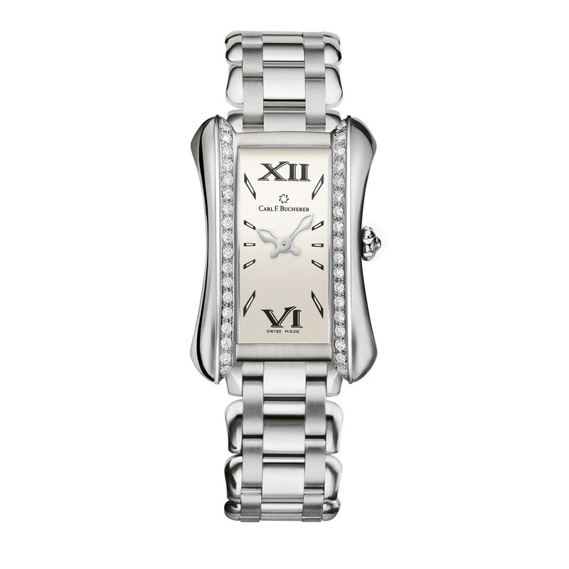 Carl F. Bucherer Alacria Queen Stainless Diamond Womens Watch
