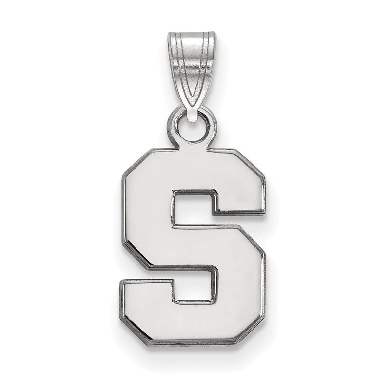 NCAA Sterling Silver Michigan State University NCAA Pendant