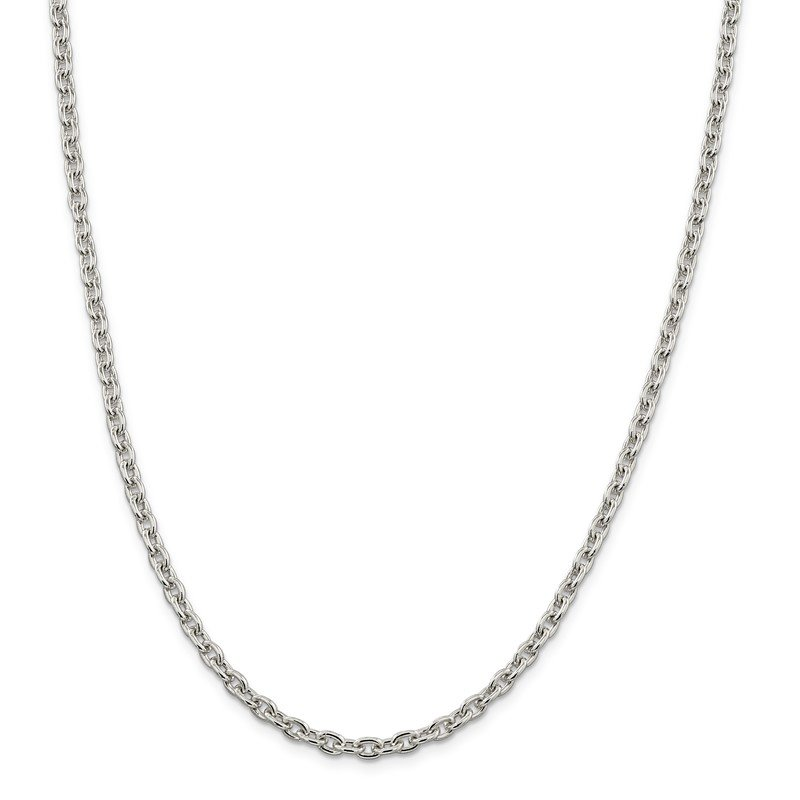 Quality Gold Sterling Silver 4.5mm Cable Chain