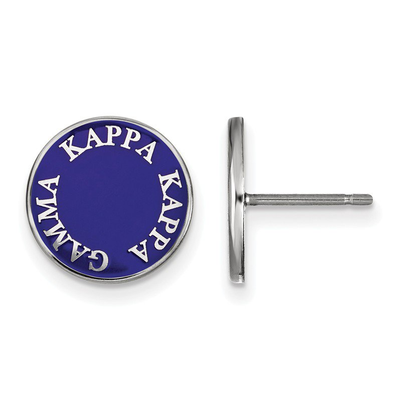 Greek Life Sterling Silver Kappa Kappa Gamma Greek Life Earrings