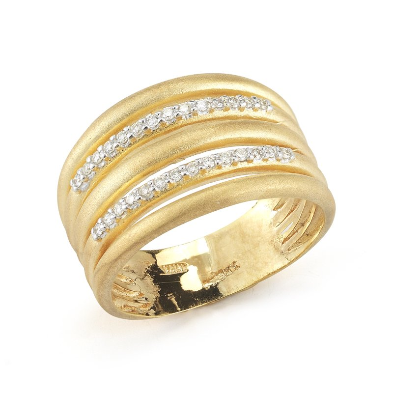 I. Reiss 14K-Y GALLERY RING 0.25CT