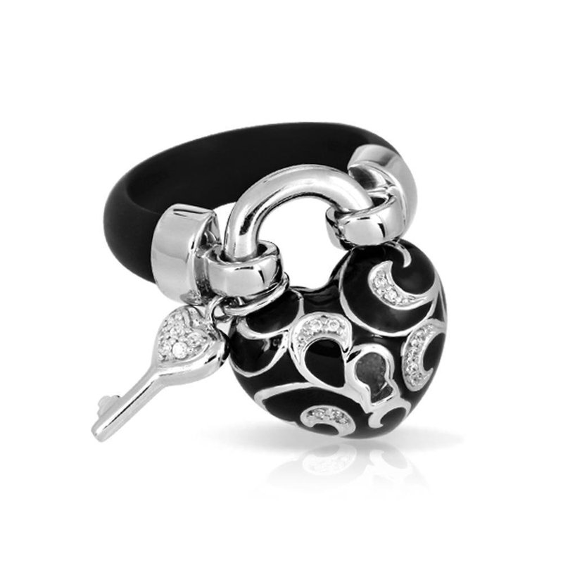 Belle Etoile Key To My Heart Ring